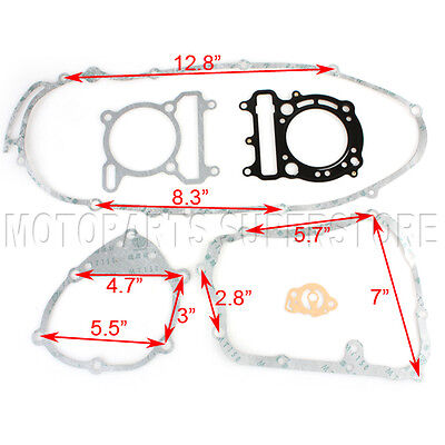 Complete Gasket Set 250cc Linhai Yamaha Water Cooled Engine Scooter Moped