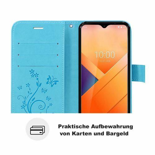 Elegant Bookcover Design: Wiko Y81 H Lle Handy Tasche Handyh Lle Wallet Case