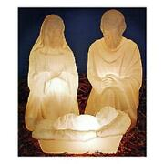 Blow Mold Nativity