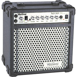 Washburn BD 25R Guitar amp - Zoom 505 Multi Effects Pedal