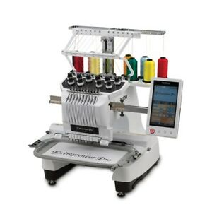 2 x Brother PR1000 Embroidery Machines