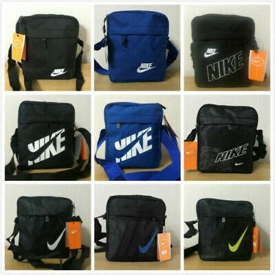 New Nike Men's Cross body Shoulder Messenger Sports Travel Bag Handbag Purse