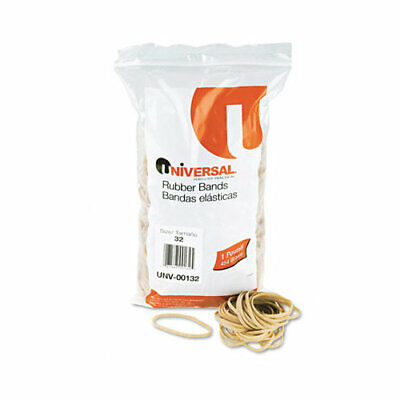 Universal Rubber Bands Size 32 0.04 Gauge Beige 1 Lb Box 820pack