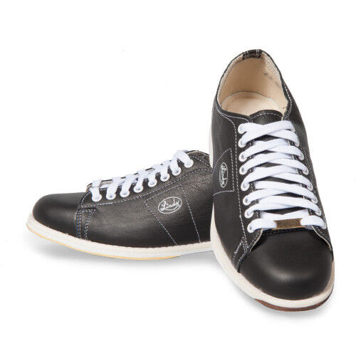 Linds Classic Black Wide Width Ee Right Handed Mens Bowling Shoes