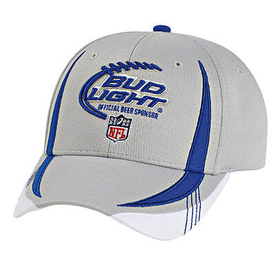 Bud Light NFL Sport Mesh Cap with Embroidered Logo Free Shipping in the USA
