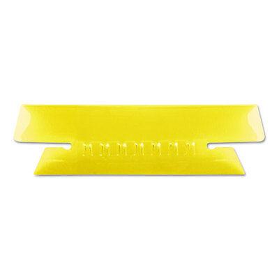 Pendaflex Hanging File Folder Tabs 3 12 Inch Yellow Tabwhite Insert 25pack