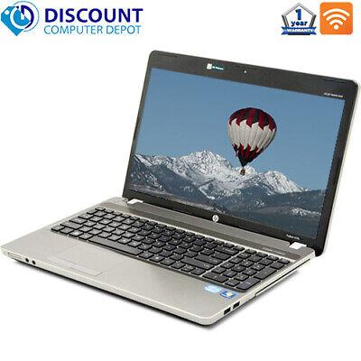 "HP Probook 15.6"" Laptop Computer Intel Core i7 2.2GHz 8GB 320GB Windows 10 Pro"