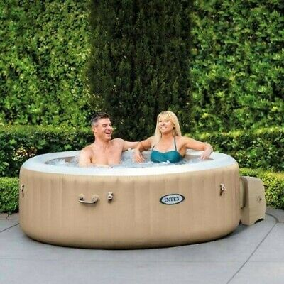 Intex Pure Spa 4-6 Person Bubble Therapy Massage Hot Tub