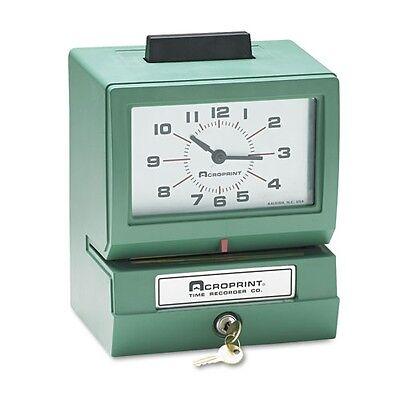 Acroprint Model 125er3 Analog Manual Print Time Clock - 01107040a