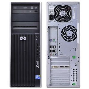 HP Workstation Z400 Xeon QC 2.67, 8gb RAM, 120gb SSD