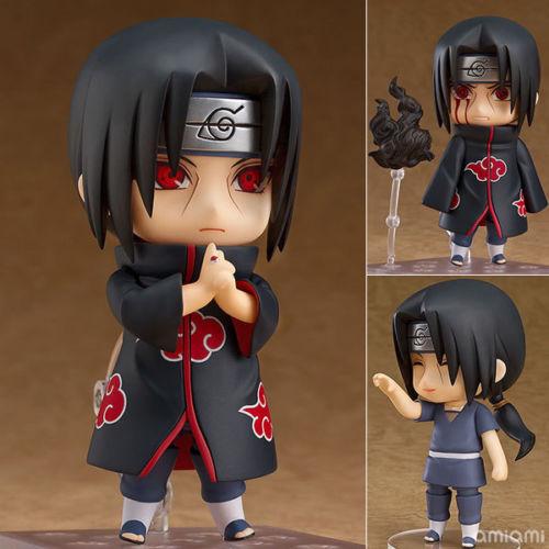 Anime Naruto Shippuden Uchiha Itachi Nendoroid 820# PVC Figure New IN Box 16cm