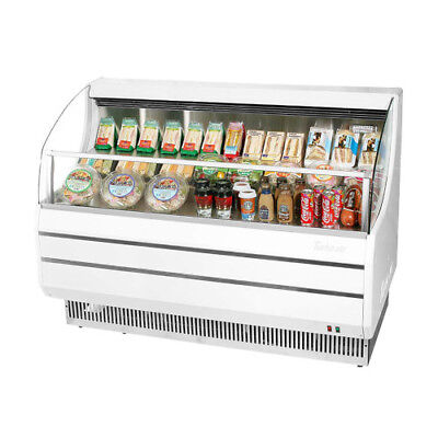 Turbo Air Tom-50sw-n Open Display Case Cooler In White Replaces Tom-50s