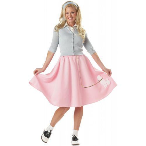 Plus Size Poodle Skirt