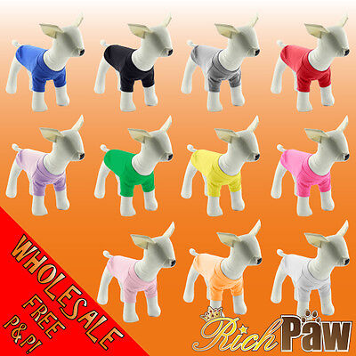 Wholesale Dog and Puppy T-Shirts x 25 - Trade Prices - Quality Dog Clothing