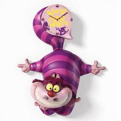 Disney Cheshire Cat Alice in Wonderland Cuckoo Clock Bradford Exchange