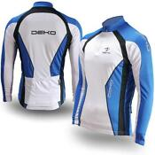 White Short Sleeve Cycling Jersey