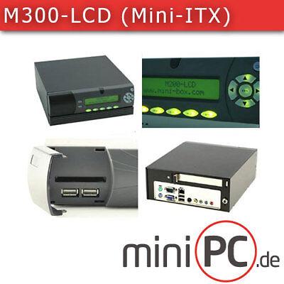 M300-LCD Gehäuse (1x PCI, Mini-ITX)