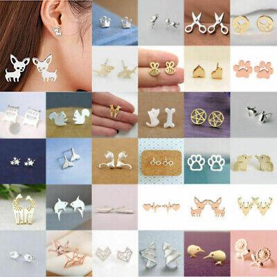 Gorgeous 8cm long gold tone /& black bead boho style drop earrings NEW  #64