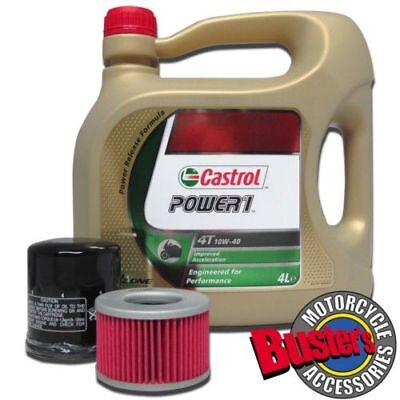 TRIUMPH SPRINT RS CASTROL POWER1 OIL AND FILTER KIT