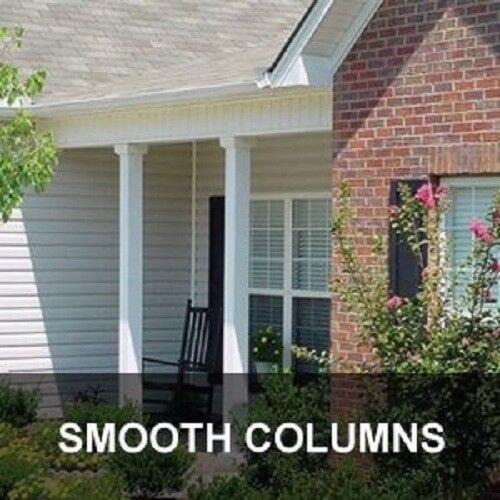 DSI Columns 6-in x 8-ft Aluminum Wrap Around Structural Columns Smooth Black
