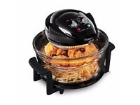 Tower T14001 Airwave 17L Low Fat Air Fryer Oil Free Healthy Halogen Cooker