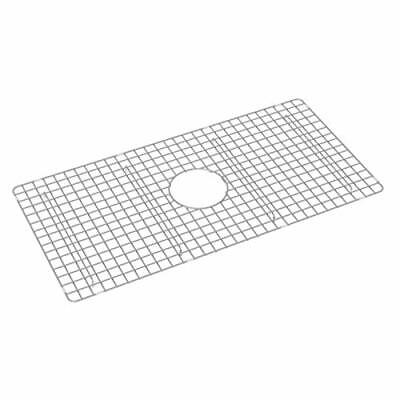 Rohl WSG3318SS Wire Sink Grid for RC3318 Sink, Stainless Steel Finish Rohl Sink Grid