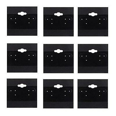 Adorox 2 X 2 Inch 200 Cards Earring Jewelry Display Hanging Cards Showcase
