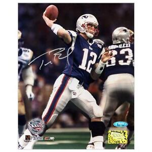 46b8ef19f Tom Brady Autograph Photo
