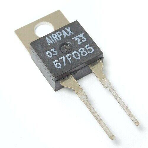 [2pcs] 67F085 Bimetal Thermostat 85