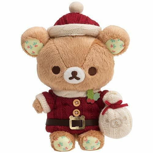 Rilakkuma Christmas Plush Toy 2019