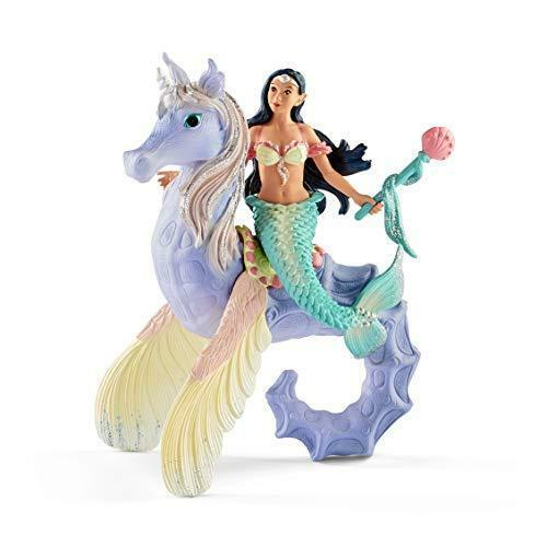 Schleich bayala, 3-Piece Playset, Mermaid Toys for Girls and Boys 5-12 years