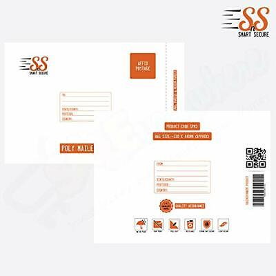 SnS Strong Postal Poly Mailing Mailer Post Postage Bags 330 x 440mm - Pack of 25