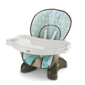 Fisher-Price SpaceSaver High Chair-Teal Tempo Cambridge Kitchener Area image 4