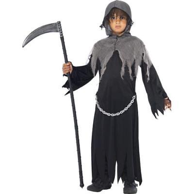 Smi - Halloween Kinder Kostüm Henker Sensenmann - Henker Kostüm Kind