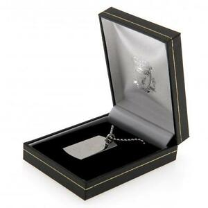 Liverpool Fc Engraved Crest Dog Tag & Chain Jewellery Football Team Necklace
