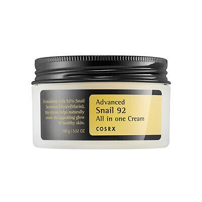 COSRX Advanced Snail 92 All In One Cream 100ml Anti Aging Moisturizer K beauty