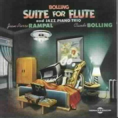 Claude Bolling - Suite For Flute and Jazz Piano CD  Jazz Flute Cd