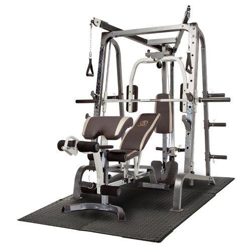 Marcy Diamond Elite Md 9010g Smith Machine Amp 125kg Set