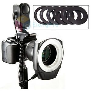 LED-Macro-Ring-Flash-Light-Panasonic-LUMIX-DMC-GH1-GH2-G10-G1-G2-G3-Samsung-E28
