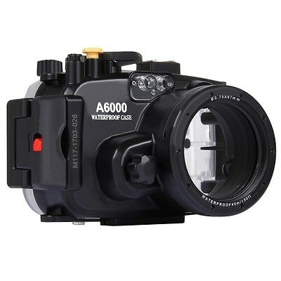 Sony A6000 Camera 40m Waterproof Underwater Housing For Depth Diving NEW