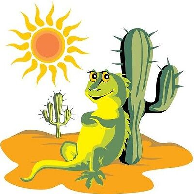 30 Custom Desert Iguana Personalized Address Labels