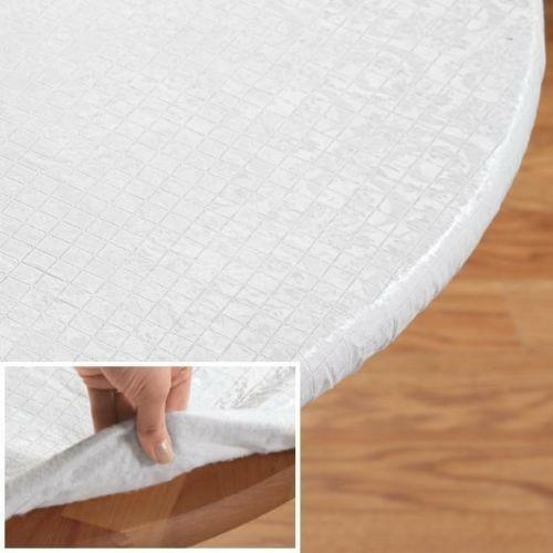 Dining Room Table Covers Protection: Round Table Pad