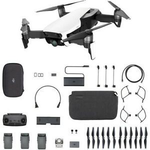 BNIB Sealed DJI Mavic Air Alpine White FlyMore Combo Drone Kit