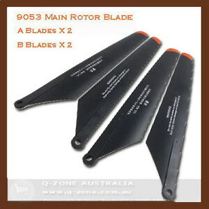 RC HELICOPTER DOUBLE HORSE 9053 MAIN BLADES X4 9053-04