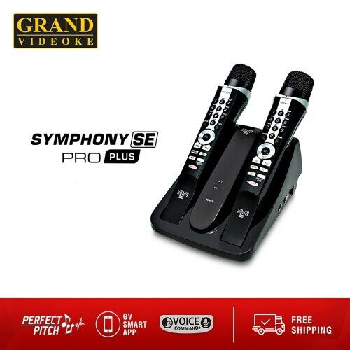 Grand Videoke Symphony SE Pro Plus_My Singing Coach! With FREE Shipping