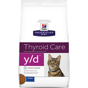 Y/D Cat Food Thyroid Care