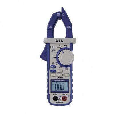 Uei Utl261 600v Universal Trade Line Digital Clamp Multimeter