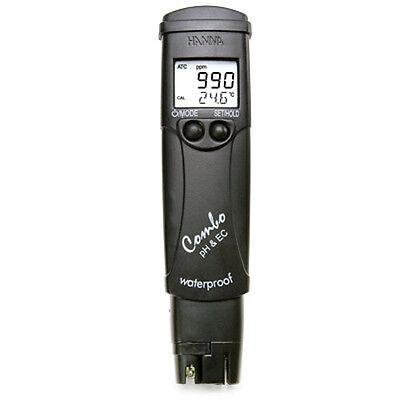 Hanna-Instruments-HI98129-LR-Combo-Waterproof-pH-EC-TDS-C-tester