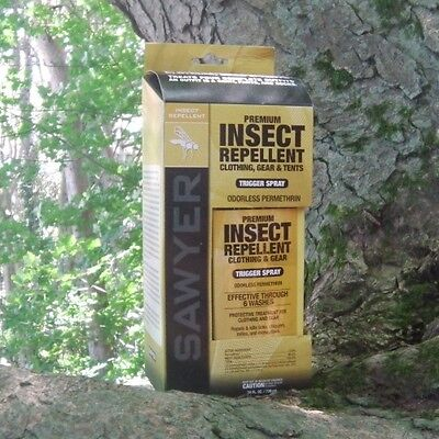 Sawyer Permethrin Clothing Insect Repellent - Sawyer SP657 - Permethrin Premium Insect Repellent For Gear & Clothing 739ml