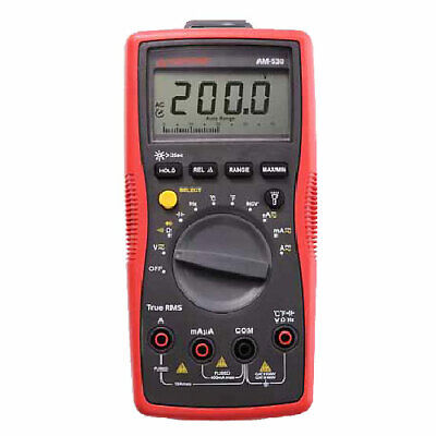 Amprobe Am-530 True-rms Electrical Contractor Multimeter - 750v Ac 1000v Dc